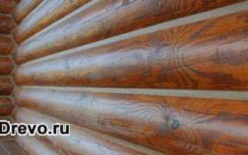 Наиболее эффективная герметизация швов в деревянном доме