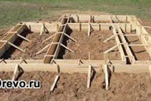 Как сделать фундамент для бревенчатого дома своими руками