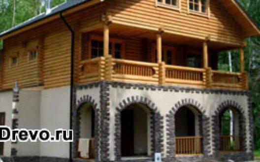 Какая удачная комбинация материалов для комбинированного дома