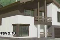 Преимущества маленьких комбинированных домов в стиле шале