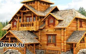Чем отличается деревянный коттедж в русском стиле