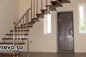 Какой материал используют для межэтажных металлических лестниц