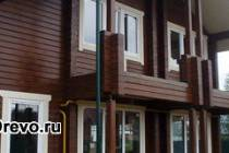 Материалы для покраски фасада деревянного дома