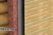 Бревенчатый дом: наружное утепление сруба