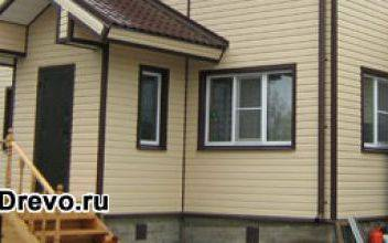 Облицовка деревянного дома снаружи: недорогие варианты