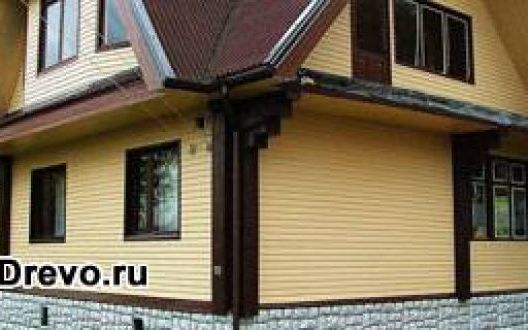 Необходимо ли обшивать бревенчатый дом снаружиоблицовка дома из бревна