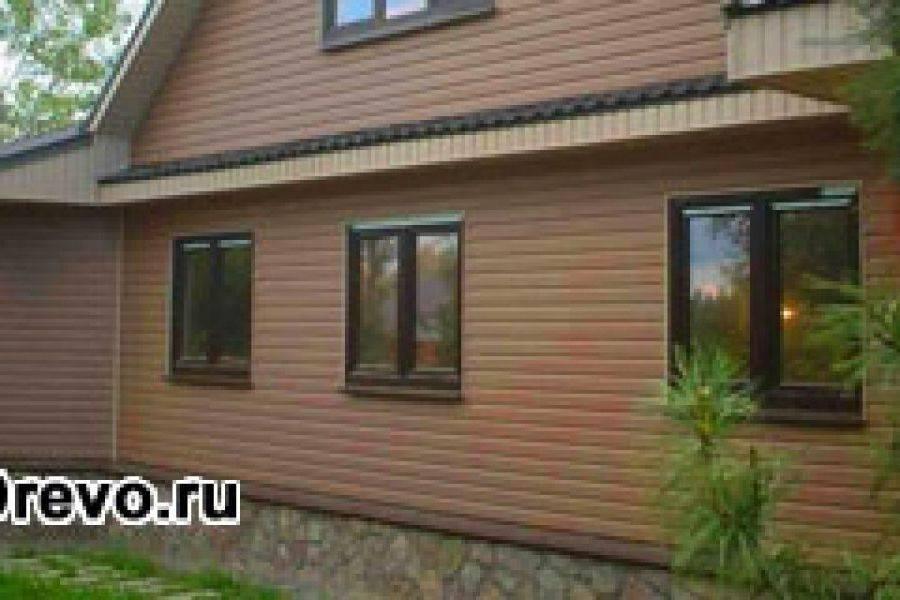 Как правильно обшить деревянный дом вагонкой