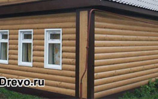 Чем можно обшить бревенчатый дом изнутри и снаружи