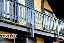 Варианты и материалы для окраски фасада деревянного дома