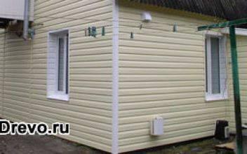 Отделка и утепление стен деревянного дома под сайдинг