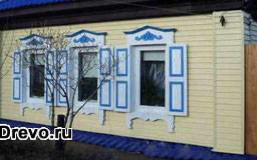 Отделка виниловым сайдингом деревянного дома