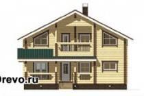 Планировка дома из бруса 200 квадратных метров