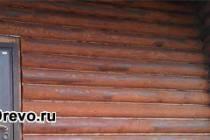 Как правильно покрасить бревенчатый дом