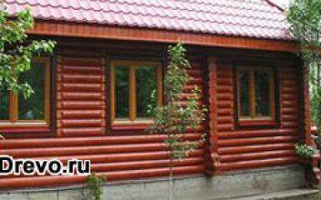 Как правильно покрасить бревенчатый дом - старый и новый