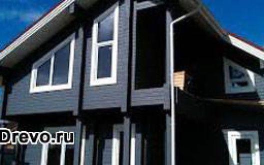 Покраска бревенчатого дома внутри и снаружи