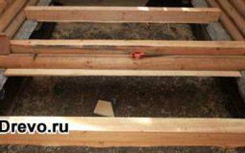 Высота от пола до потолка в деревянном доме