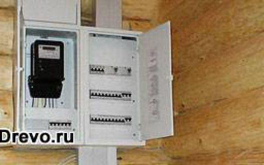 Требования по размещению электрощитовой в жилом деревянном доме