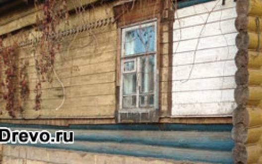 Реставрация старого бревенчатого дома