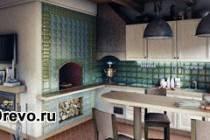 Делают ли современный деревянный дом с русской печью