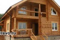 Строительство бревенчатого дома своими руками