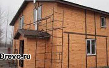 Строительство деревянно-щитовых домов в целях экономии средств