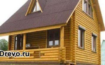 Планировка и строительство деревянного дома 6х8
