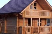 Строительство дома из калиброванного бруса
