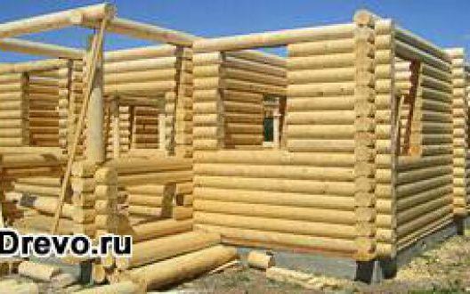 Преимущества строительства дома из круглого бревна