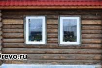 Доступная технология утепления фасада бревенчатого дома