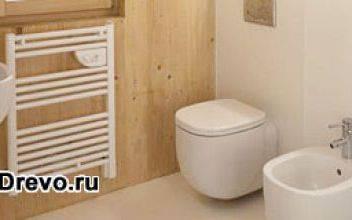 Как в деревянном доме сделать тёплый туалет