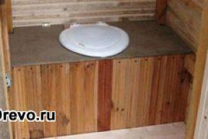 Устройство туалета в деревенском доме - как построить