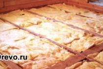 Как утеплить межэтажное перекрытие в деревянном доме