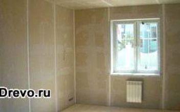 Выравнивание и выпрямление стен в бревенчатом доме