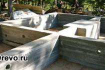 Оптимальная высота фундамента для деревянного дома