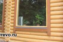 Заделка швов герметиком в деревянном доме