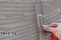 Как заштукатурить бревенчатый дом изнутри