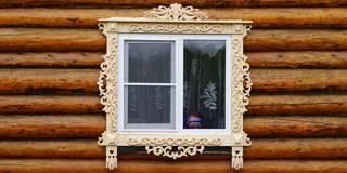 Наличник на деревянное окно