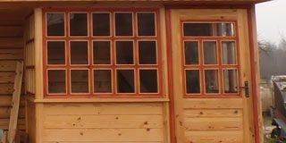 Окна для деревянной веранды