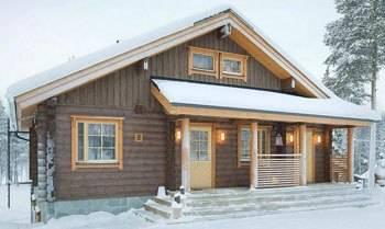 Типичный финский дом