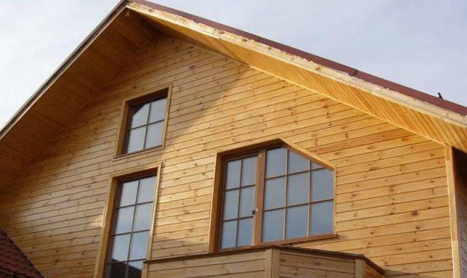 Отделанный дом