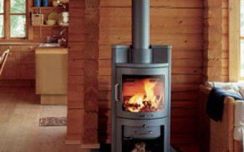 Интерьер и планировка деревянного дома с печным отоплением