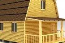 Деревянные дома из бруса 6х9