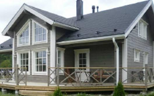Отличия финских деревянных домов из бруса