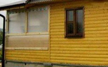 Пристройка каркасно-щитовая: расширение площади деревянного дома
