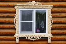 Варианты наличников на окна в деревянном доме