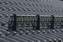 Снегозадержатели на крышу: эффект, установка, защита