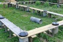 Свайный фундамент для дома из бруса: технология возведения