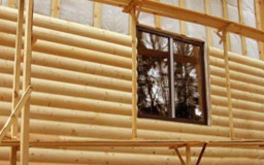 Технология обшивки брусового дома изнутри и снаружи