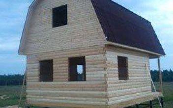 Усадка деревянного дома - срок и последствия