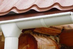 Система водостока для крыши - устройство и монтаж